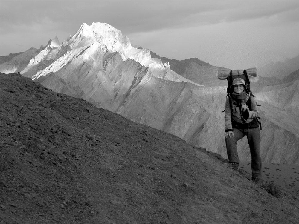 Překladatelka Eva Dobrovolná v Himálaji